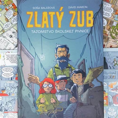 Mám zlatý zub, a čo teraz? Komiksový workshop s Soňou Balážovou a Dávidom Marcinom / Žilinský literárny festival