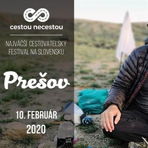 Cestovateľský festival Cestou necestou v Prešove